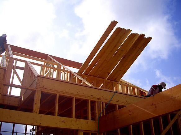 屋根の準備