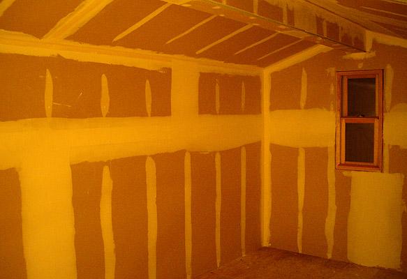 屋根裏のドライウォール・セカンドコート