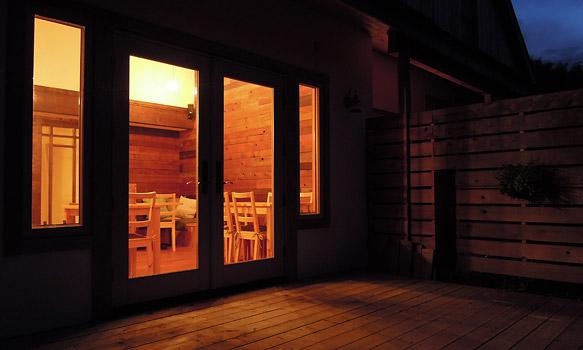 夜のホタルカフェ