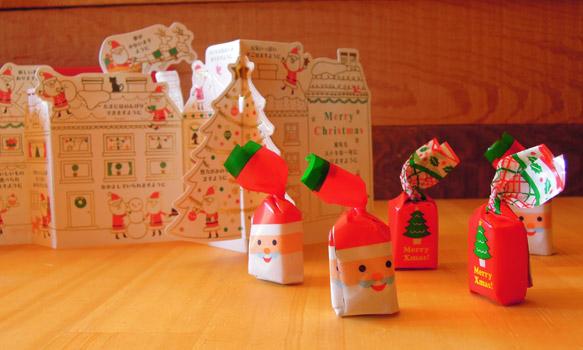 お客様からの素敵なプレゼント。クリスマスカードに記されたたくさんの短いメッセージが心にしみます。