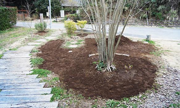 庭の土作り
